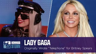 """Lady Gaga Wrote """"Telephone"""" for Britney Spears but She Turned the Song Down (2011)"""