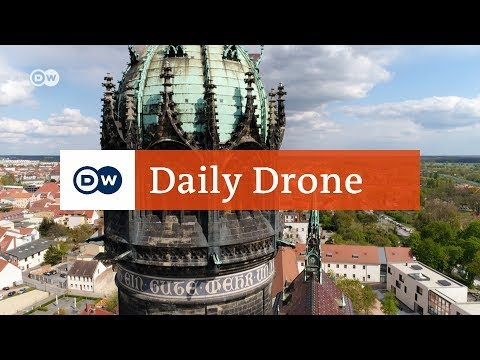#DailyDrone: Castle Church Wittenberg