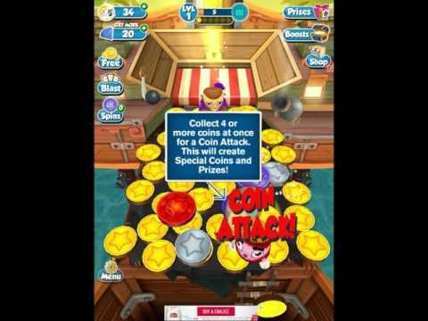 Coin Dozer Pirates Spin the wheel!