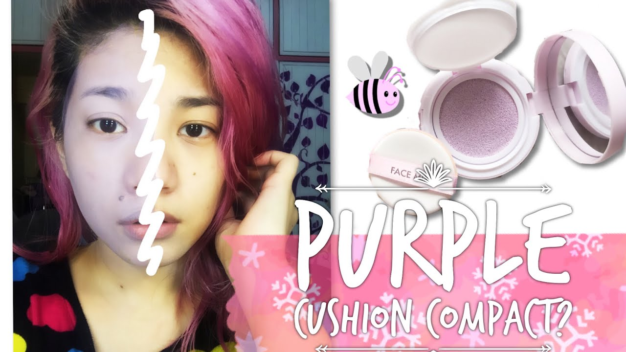 Tony Moly Purple Cushion Face Mix Primer Review First