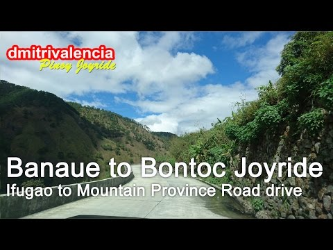Pinoy Joyride - Banaue to Bontoc (Ifugao to Mountain Province) Joyride