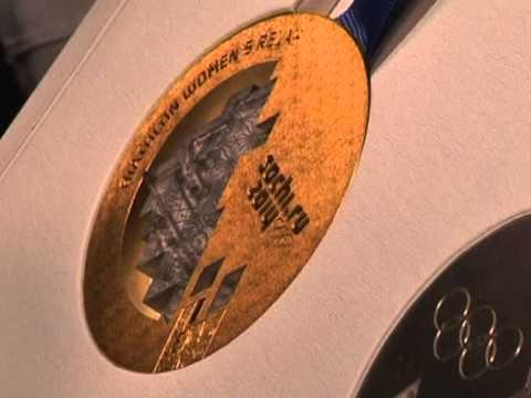 Презентация медалей Олимпийских и Паралимпийских игр в Сочи-2014