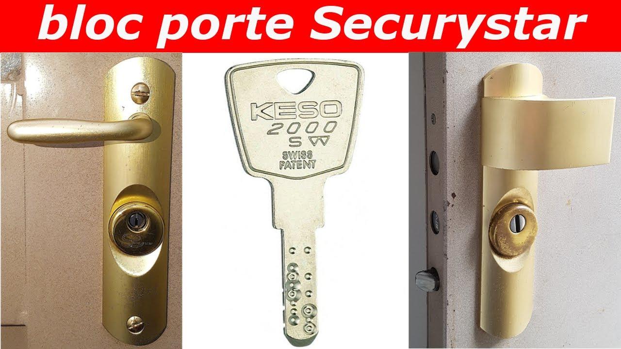 TUTO Comment Changer Un Cylindre Keso Du0027un Bloc Porte Securystar