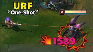 URF One Shot - Funny URF Moments (League of Legends)