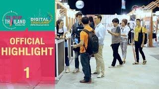 Highlight | Startup Thailand & Digital Thailand @Chiang Mai Part1