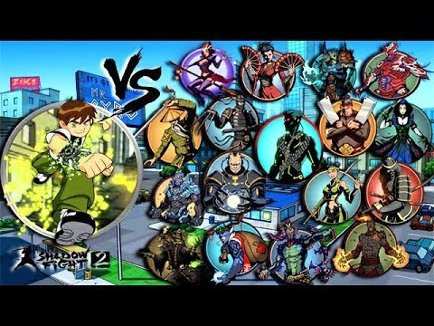 Shadow Fight 2 Ben 10 Vs All Bosses