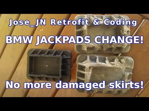 Bmw Diy How To Change Your Jack Pads Youtube
