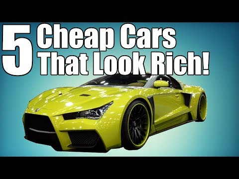 5 Affordable Cars That Make You Look Rich! $15k-$40k