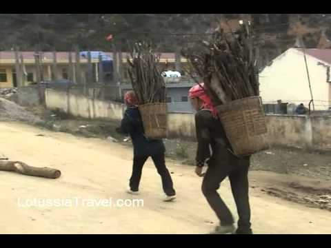 Life of Hmong Ethnic Group in Ha Giang Northern Vietnam