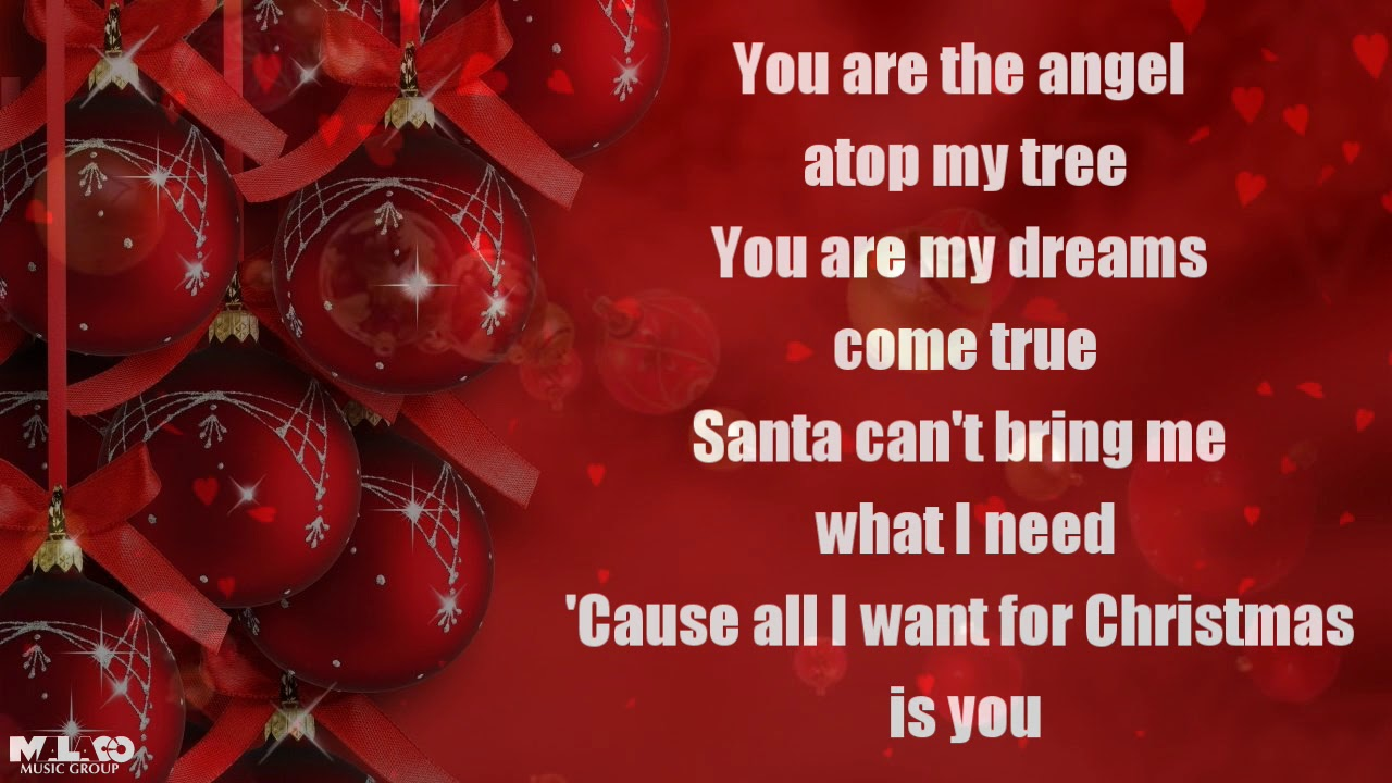 All I Want For Christmas Is You Lyrics.Dorothy Moore All I Want For Christmas Is You Lyric Video