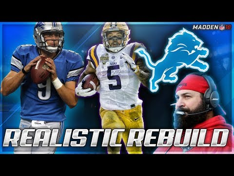 Rebuilding The Detroit Lions | Megatron 2.0 + Derrius Guice | Madden 18 Connected Franchise