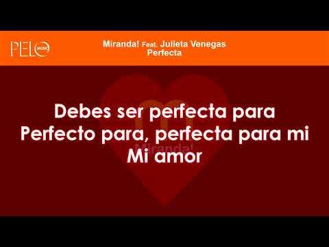 Miranda! - Perfecta (Letra)