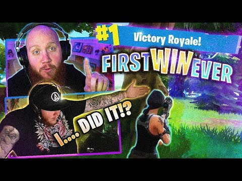 TIMTHETATMAN REACTS TO FIRST FORTNITE WIN EVER