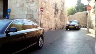 Israeli government Motorcade