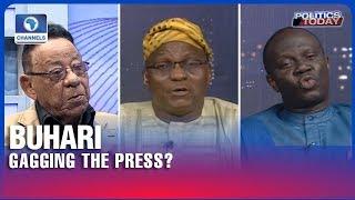 Clarke, Afegbua, Akinsiju differ on Buhari's Press Gagging Pt.1