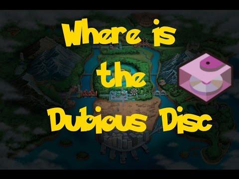 Where Is: The Dubious Disc (Pokemon Black/White)