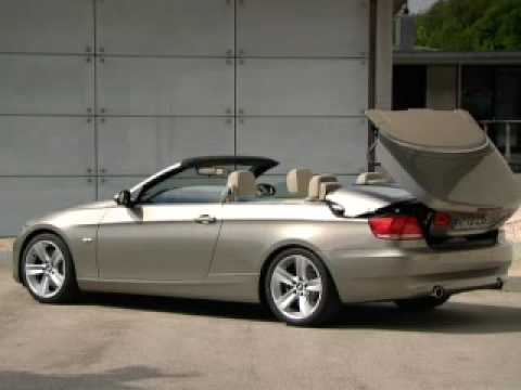 2009 new BMW 3 series convertible  YouTube
