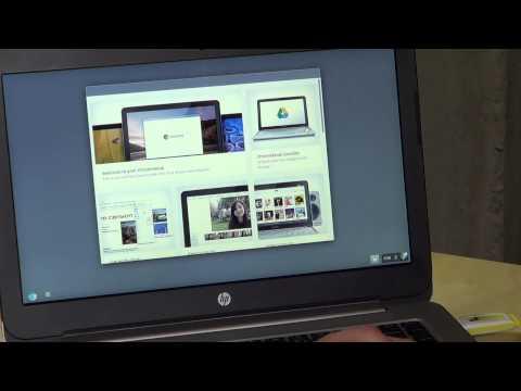 HP Stream 14 Laptop Computer - Booting Ubuntu Linux and ChromeOS