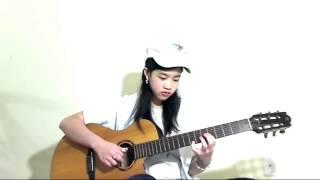 Ánh Trăng Nói Hộ Lòng Tôi - Bé Mẫn - Guitar Solo