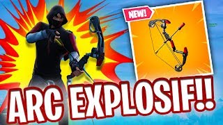 THE NEW EXPLOSIVE ARC IS TROP CHEATE ON FORTNITE !!!