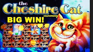 THE CHESHIRE CAT Slot - BIG WIN! - Slot Machine Bonus