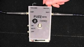 Sanner Fuzzrite Demo (Mosrite Fuzz)