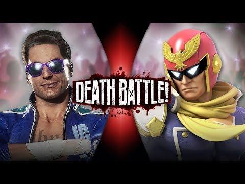 Johnny Cage VS Captain Falcon (Mortal Kombat VS F-Zero) | DEATH BATTLE!