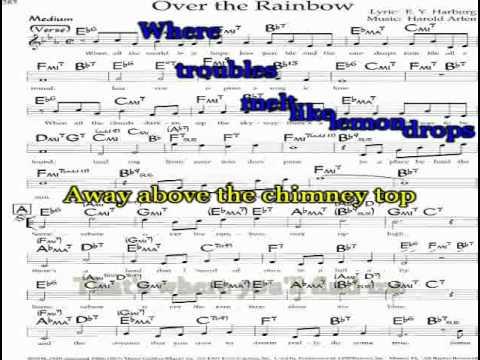 over the rainbow karaoke