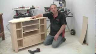 Build It With Bosch Project 3 Entertainment Centre