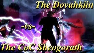 skyrim battles the coc sheogorath vs the dovahkiin legendary settings