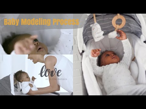 Baby Modeling Process | Mom In College