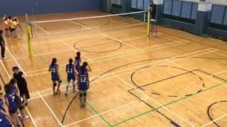 聖羅撒 vs 聖心 學界排球2016 Part2