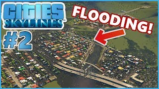 HELP! MY CITY IS FLOODING! - Cities Skylines #2