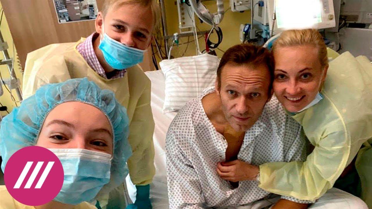 Навальный опубликовал первое обращение после комы. Обсудили с врачом-реабилитологом // Дождь