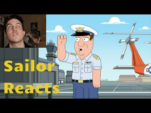 Family Guy ROASTS the U.S. Coast Guard - Navy Vet Reacts