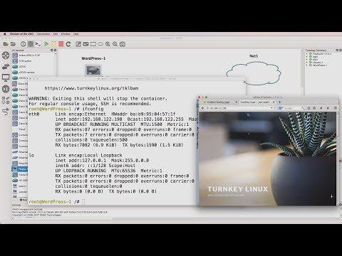 GNS3 Talks: WordPress Docker appliance now available! Add