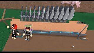 Roblox: Lumber Tycoon 2: Building a Treefetti Machine for Giveaway Winner!