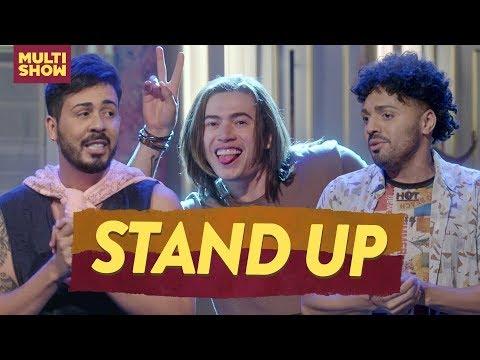 Whindersson Carlinhos Maia Tirullipa e os STAND UPS da semana   Os Roni  Humor Multishow