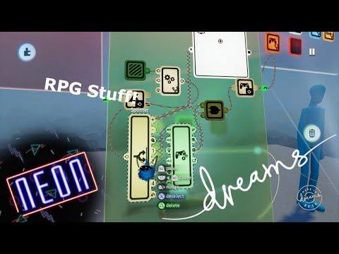 Dreams PS4   RPG Stuff Part 1
