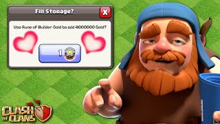 I LOVE BUILDER GOLD RUNES! Journey to Geared Up Multi Mortar | Clash of Clans