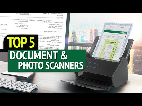TOP 5: Best Document And Photo Scanners