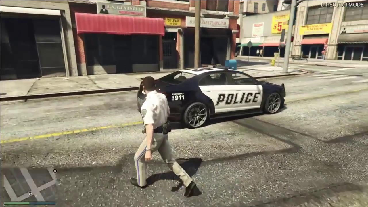 GTA 5, how to be a cop in gta without mods PS4, Xbox one and PC 2017