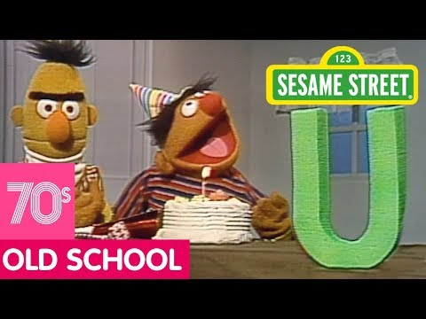 Sesame Street: Bert and Ernie Celebrate the Letter U's Birthday!