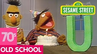 Sesame Street: Bert and Ernie Celebrate the Letter U's Birthday!