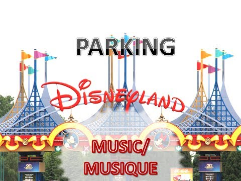 Disneyland Paris - Parking Musique / Parking Music