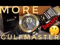 GOLD BLACK GULFMASTER G-SHOCK REVIEW and WATCH SET-UP