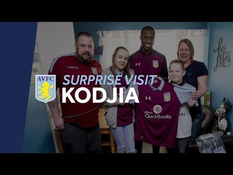 Kodjia's Surprise Visit