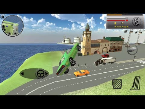grand city gangster gang crime - Car Fly in the Sky Super Cheat Code