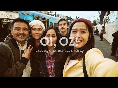 Oi, Oz! Hello Melbourne (with Mukbang!) | Travel Vlog: Australia #6 | Dinda Naya
