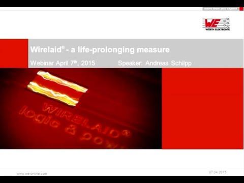 Würth Elektronik Webinar: Wirelaid® - A life prolonging measure